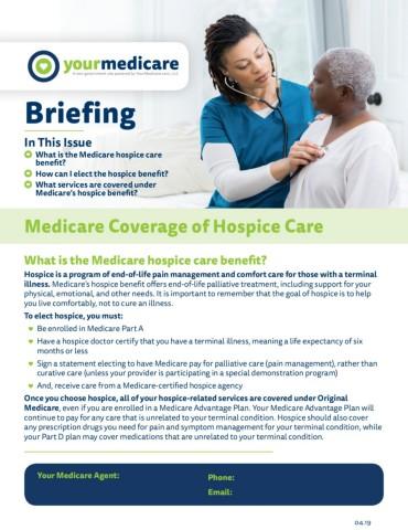 Medicare Coverage of Hospice Care