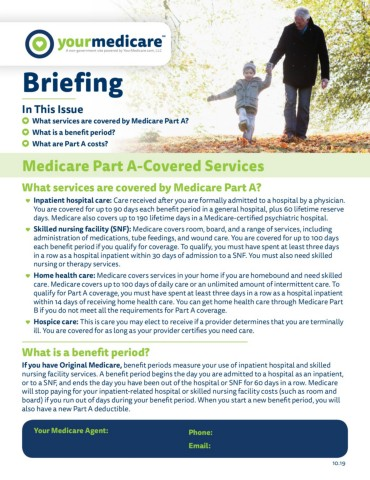Medicare Part A-Covered Services
